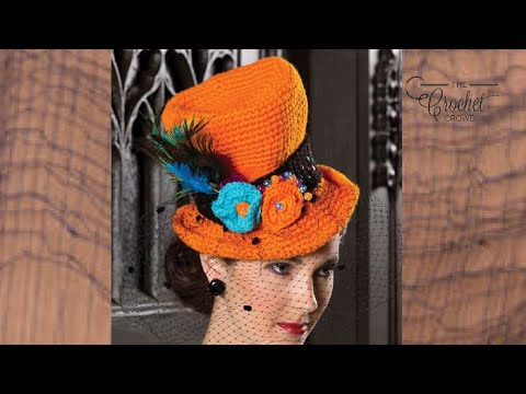 How to Crochet a 🎩 Top Hat