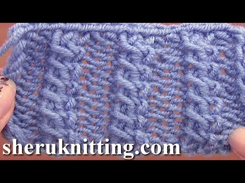 Front Cross Cable Stitch Pattern Knitting Tutorial 11 Easy Cable Stitch Patterns