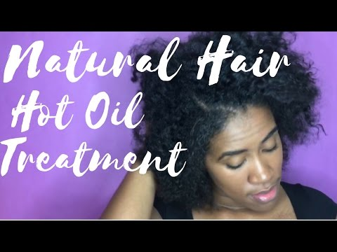 Low Porosity Hot Oil Treatment | Natural Hair