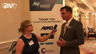 AVEC 2017: Sara Abrons Interviews Sean Wargo, AVIXA