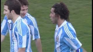 Paliza de Argentina a España 4-1