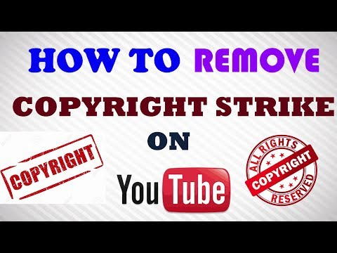 How to Remove Copyright Strike on Youtube [Retract Claims - copyright strike expires]
