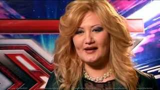 Наиля Дьяченко. X Factor Казахстан. Прослушивания. Вторая серия. Пятый сезон.