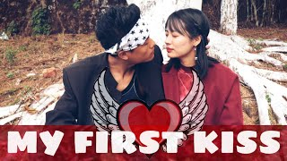 MY FIRST KISS (VALENTINE'S DAY SPECIAL) | LAMBO & SKINNY | NAGAMESE COMEDY