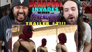 Download DEADPOOL Invades AVENGERS: ENDGAME - Trailer 2 - REACTION!!! Video