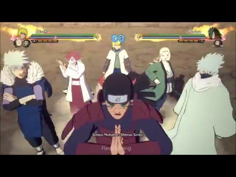 Naruto Shippuden Ultimate Ninja Storm 4: DLC PACK 1 ALL NEW TEAM Ultimate Justu