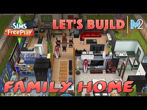 Sims FreePlay - Let's Build a Family Home (Live Build Tutorial)