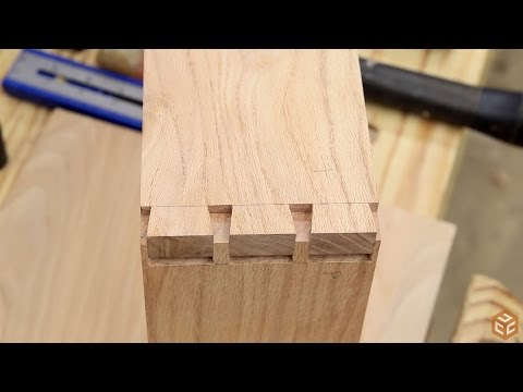 Easy Hand Cut Dovetails With A Magnetic Guide