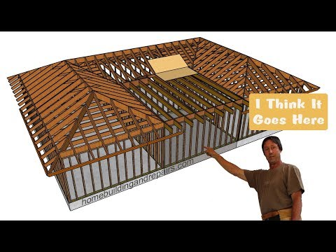How to Build Home Addition Between Building with Existing Hip Roofs