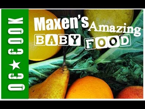 Baby Juicing - Orange, Apple, Pear and Kale Juice Recipe - ORANGE COUNTY COOK