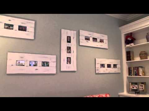 Creative ways to display family portraits