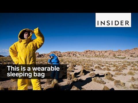 Introducing the wearable sleeping bag