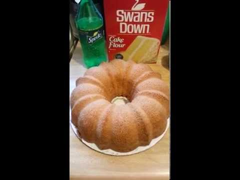 How to make the Best 7up Pound Cake Ever!