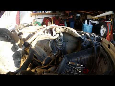 Silverado Sierra remote transmission oil filter kit install (spin-on)