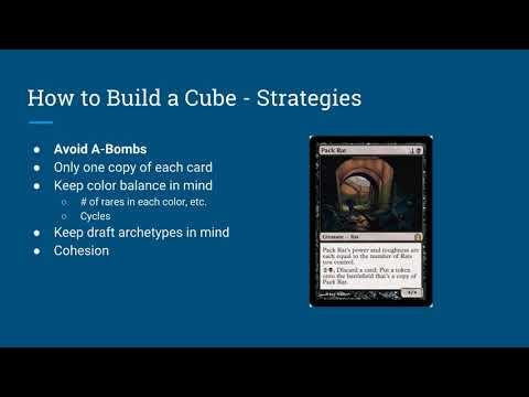 How to Build a MtG Cube on a Budget