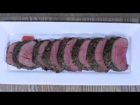 Roasted Beef Tenderloin with Garlic and Herb Rub