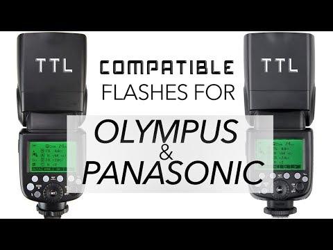Panasonic Lumix TTL compatible camera Flash GODOX TT685o