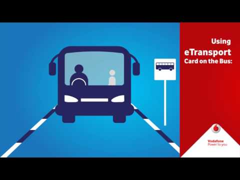 How to use the eTransport Card
