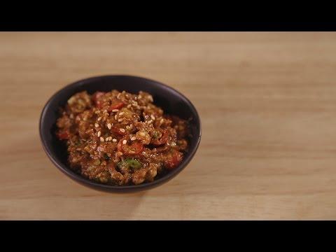 Ssamjang, Dipping Sauce for Korean BBQ Wrap