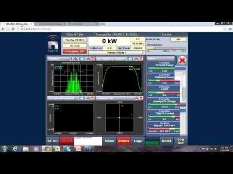 Nautel's VS LPFM AUI Live Demo: Best Control Features in the Market Today