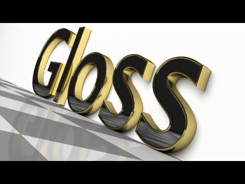 Blender Tutorial: Glossy Polished Text