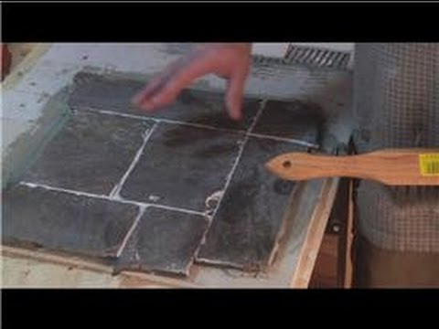 Cleaning Tile  : How to Polish Slate Tiles
