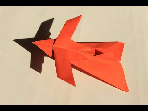How to make a cool paper plane origami: instruction| spider fighter