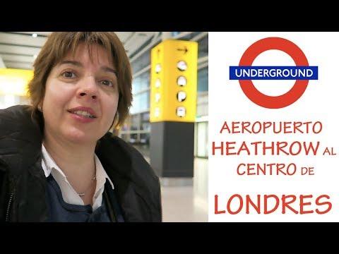 Cómo Ir en Metro del Aeropuerto de Heathrow al Centro de Londres - Vuelo FRA-LHR Parte 2