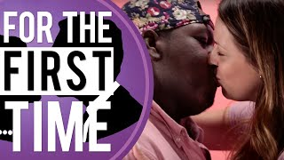 White Girls Kiss Black Guys For The First Time