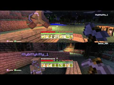 Minecraft: PS3 Edition Split Screen - Episode 2