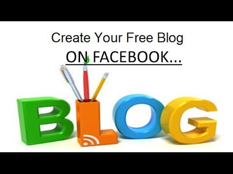 How to create Facebook Blog using Fb Note  - Pinoy style