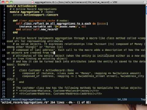 Vim & Me - Episode 3, Opening Multiple Files At Once