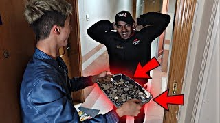 Paying Pizza Delivery Guys Using Only Pennies