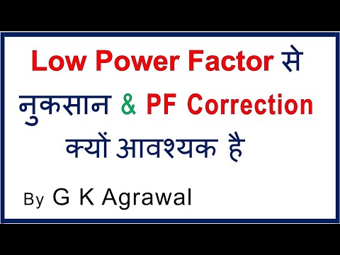 Why Power Factor correction is required? in Hindi