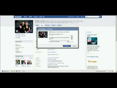 How to add friends in Facebook