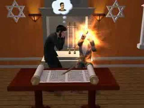 Werewolf Bar Mitzvah - Sims 2