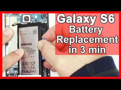 How to replace the Samsung Galaxy S6 Battery in 3 Minutes