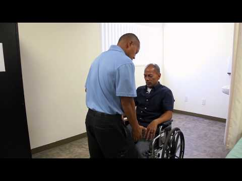Caregiver Training: Assisting Someone With Getting Up From A Wheelchair  - 24Hr HomeCare