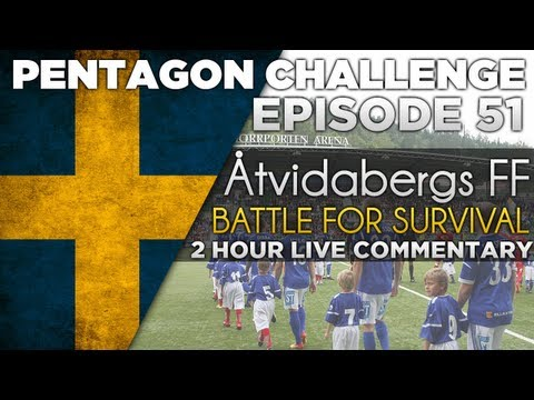 Pentagon Challenge Ep.51 A new league, A New Challenge - 2 Hour Episode   #FootballManager 2013
