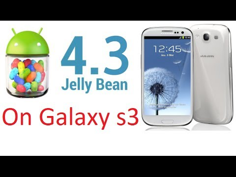 How to instal android 4.3 on Samsung galaxy S3 (i9300)