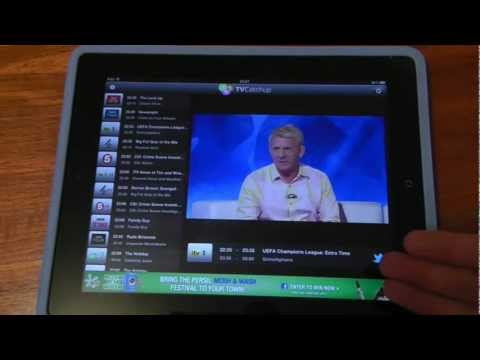 TVCatchup for iPad