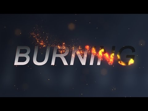 Burning Effect - After Effects Tutorial (with Trapcode Particular)