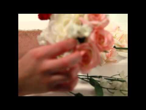 How To Make A Bridal Bouquet With Fake Flowers