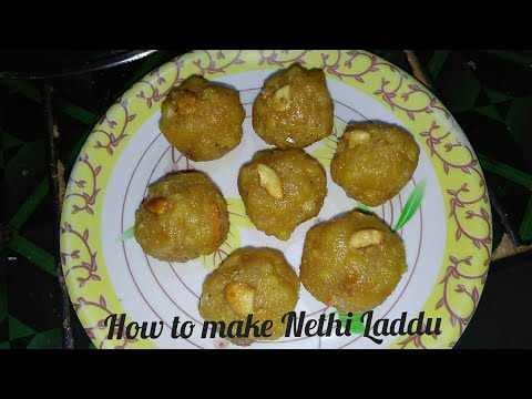 Nethi Laddu l Tirupathi Laddu l Boondi Laddu Recipe Preparation in Telugu