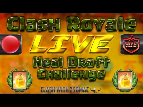 Heal Draft Challenge Elsőre | Clash Royale Magyarul