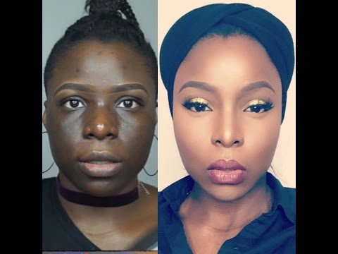 Skin Finish Foundation Routine for Hyperpigmentation on Dark Skin