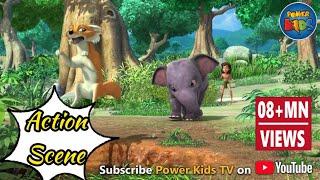 Jungle book hindi cartoon for kids kahniya action compilation