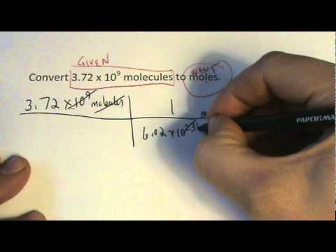 Molecules to Moles