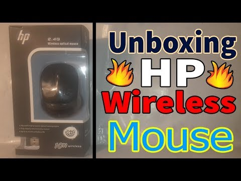Unboxing  hp wireless mouse for gaming pc at cheap price!