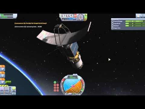 Kerbal Space Program 1.0 Launch 2: Polar Orbit